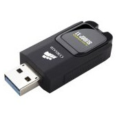Corsair USB drive Flash Voyager Slider X1 USB 3.0 64GB, Capless Design, Read 130MBs, Plug and Play,