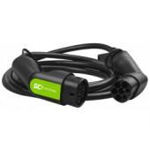 Green Cell (EV09) kabel Tip 2, 7.2kW za punjenje električnih vozila 5m