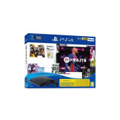 PlayStation 4 500GB F Chassis Black + FIFA 21 + FUT VCH + PS Pl 14dana