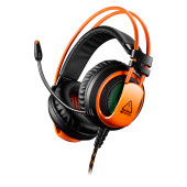 CANYON Gaming headset 3.5mm jack plus USB connector for vibration function, light control button, ad