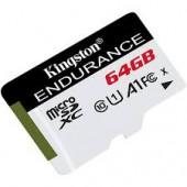 KINGSTON 64GB microSDXC Endurance 95R/45W C10 A1 U