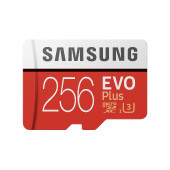 SAMSUNG EVO Plus 256GB microSD + adapter