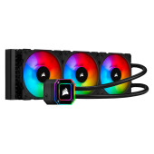 Corsair iCUE H150i ELITE CAPELLIX, 360mm Radiator, Triple 120mm ML RGB Fans, Software Control