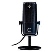 ELGATO Wave:1, Premium USB Condenser Microphone and Digital Mixing Solution, Anti-Clipping Technolog