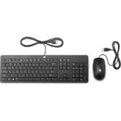 HP Slim USB tipkovnica i miš,  T6T83AA
