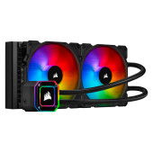 Corsair iCUE H115i ELITE CAPELLIX, 280mm Radiator, Dual 140mm ML RGB Fans, Software Control
