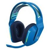 LOGITECH G733 LIGHTSPEED Wireless RGB Gaming Headset - BLUE - 2.4GHZ - EMEA