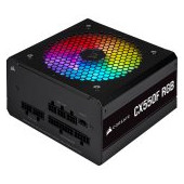 Corsair PSU CX550F 550W modular RGB 80+ Bronze 120mm, RGB Led, Black
