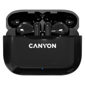 Canyon TWS-3 Bluetooth headset, with microphone, BT V5.0, Bluetrum AB5376A2, battery EarBud 40mAh*2+