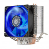 SilverStone SST-KR03 Kryton CPU Cooler, Silent hydraulic bearing 92mm blue LED fan, Intel LGA 775/11
