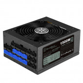 SilverStone Strider Titanium Series, 1500W 80 Plus Titanium ATX PC Power Supply, Low Noise 135mm, 10