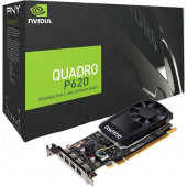 NVIDIA Video Card Quadro P620 GDDR5 2GB/128bit, 512 CUDA Cores, PCI-E 3.0 x16, 4xminiDP, Cooler, Sin