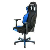 SPARCO GRIP gaming stol črno - modre barve