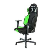 SPARCO GRIP gaming stol črno - zelene barve