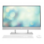 """Desktop HP All-in-One 27-DP0027NY R5 / 8GB / 256GB SSD / 27"""" FHD IPS / Windows 10 Pro (natural silver)"""
