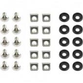 Gembird 19'' rack mounting set (bolt, nut, washer), 10 pcs set
