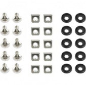 Gembird 19'' rack mounting set (bolt, nut, washer), 50 pcs set