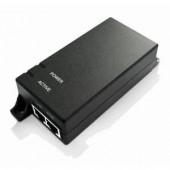 MaxLink PoE injector - 802.3af at, 55V, 0,55A, 30W, 1Gbit