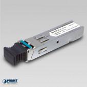 Planet Industrial 100Mbps SFP (LC, SM)-20km fiber module (-40 to 75C)