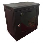 "NaviaTec SOHO Wall Cabinet 10"" 350x300 4U, Black"