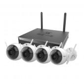 Ezviz camera kit, 4xcam 1xnvr
