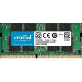 CRUCIAL 16GB DDR4 2666MHz SODIMM, Unbuffered, Single Ranked, NON-ECC