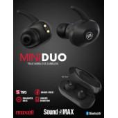 Maxell bežične slušalice TWS Mini Duo crne