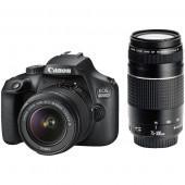 Canon EOS 4000D DZ 18-55mm + 75-300mm