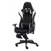 LC-Power LC-GC-702BW-FF, crno/bijel gaming stolica