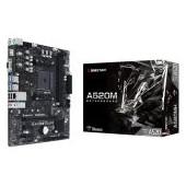 BIOSTAR Main Board Desktop A520, AM4, 2xDDR4, VGA/HDMI, 1xPCIe x16, 2xPCIe x1, 1xM.2, 4xSATA, GbE LA