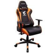 GIGABYTE AORUS Gaming Chair AGC300 V2 Black + Orange, headrest & lumbar cushion, 120kg max load