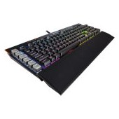 CORSAIR K95 RGB PLATINUM Mechanical Keyboard, Backlit RGB LED, Cherry MX Speed  (US)