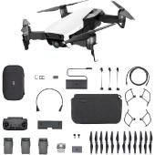 Dron DJI Mavic Air Fly More Combo, Arctic White, 4K UHD kamera, 3-axis gimbal, vrijeme leta do 21min, upravljanje daljinskim