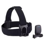 Dodatak za sportske digitalne kamere GOPRO, Head Strap Mount + QuickClip ACHOM-001, za glavu