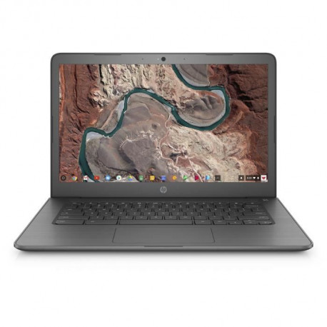 "Laptop HP Chromebook 14-db0002ng Chalkboard Grey / AMD A4-series / RAM 4 GB / SSD Pogon / 14,0"" FHD"