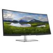 Monitor DELL P3421W Curved 34.14in, 3440x1440, WQHD, IPS Antiglare, 21:9, 1000:1, 300 cd/m2, 8ms/5ms