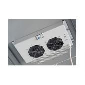 Tecnosteel ventilacija za ormar 2×ventilator sa termostatom (P9062T)