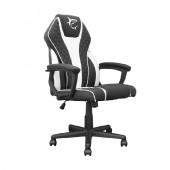 WHITE SHARK gaming stolica PIRATE crno-bijela