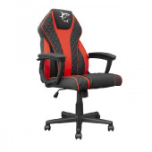 WHITE SHARK gaming stolica PIRATE crno-crvena