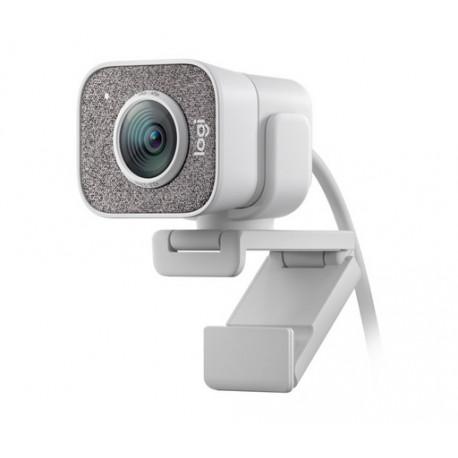 Spletna kamera Logitech StreamCam, bela, USB