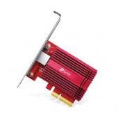 TPLink 10 Gigabit PCI Express Network Adapter, 1× PCI Express 3.0 x4, 1× RJ45 Gigabit/Megabit Port,