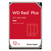 HDD NAS WD Red Plus (3.5'', 12TB, 256MB, 7200 RPM, SATA 6 Gb/s)