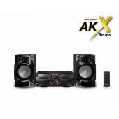PANASONIC Mikro Hi FI sustav SC-AKX320E-K crna