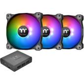 Hladnjak za kućište Thermaltake Pure Plus 12 RGB (3 komada+HUB)