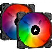 Corsair  iCUE SP140 RGB PRO Twin pack 140mm Black/Gray