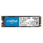 SSD 2TB M.2 80mm PCI-e 3.0 x4 NVMe, 3D QLC, CRUCIAL P2