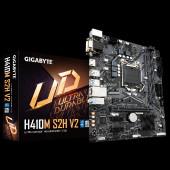 GIGABYTE Mainboard Desktop H410 (S1200, 2xDDR4, HDMI, DVI-D, VGA, 1xPCIex16, 2xPCIex1, ALC887, 8118