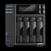 ASUSTOR Lockerstor 4-BayNAS, Intel Quad-Core, 4GB DDR4 SODIMM , 2x M.2 Slots (2280 NVMe SSD), 2.5 Gb