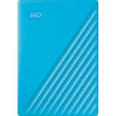 WD My Passport 4TB portable HDD Blue