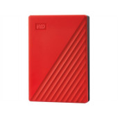 WD My Passport 4TB portable HDD Red